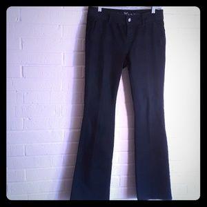 Simply Vera Wang Denim Blue Jeans Boot size 4